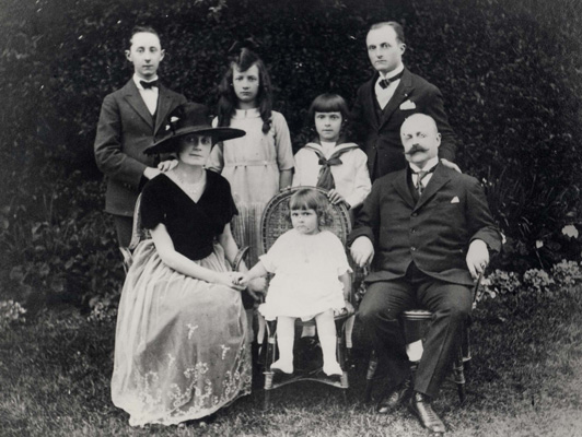 Dior et sa famille